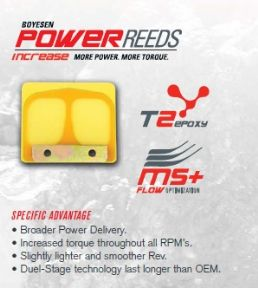 Boyesen Power Reeds for Gas Gas Pro TXT  & Pampera trials